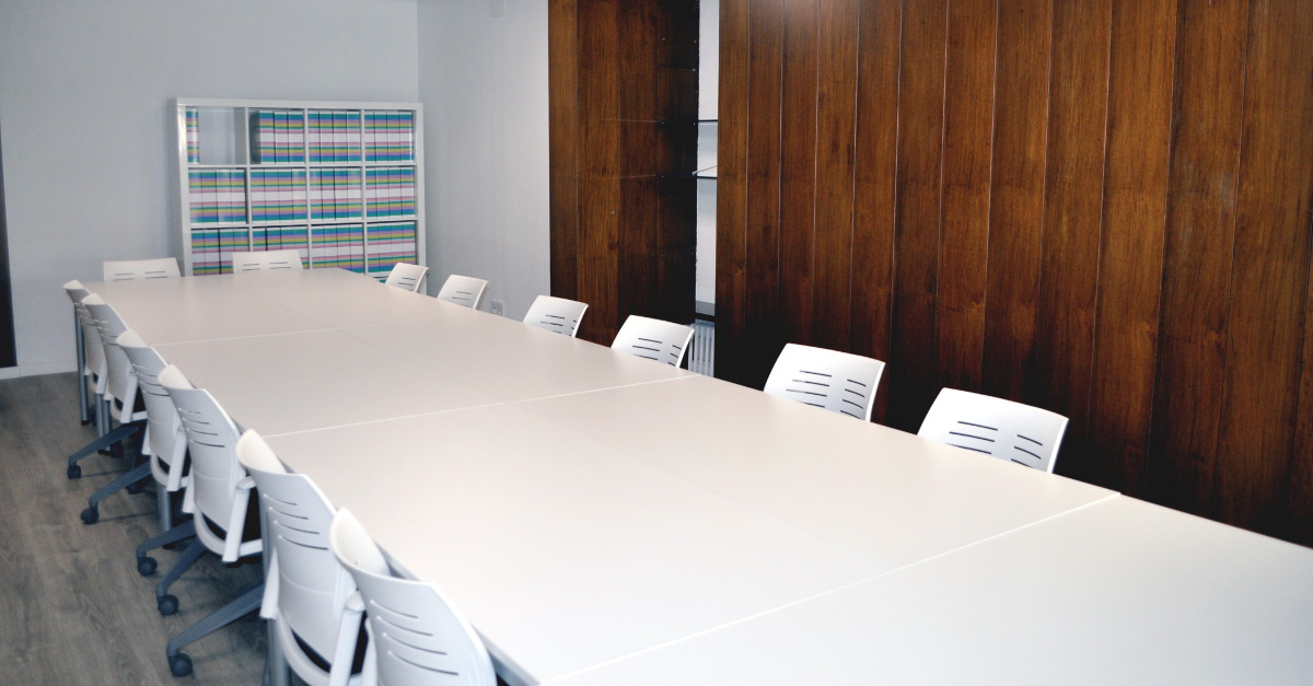 Sala de juntas - Consultoría de Fundaciones